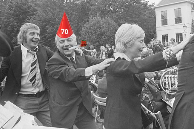 70 jaar pvda 2